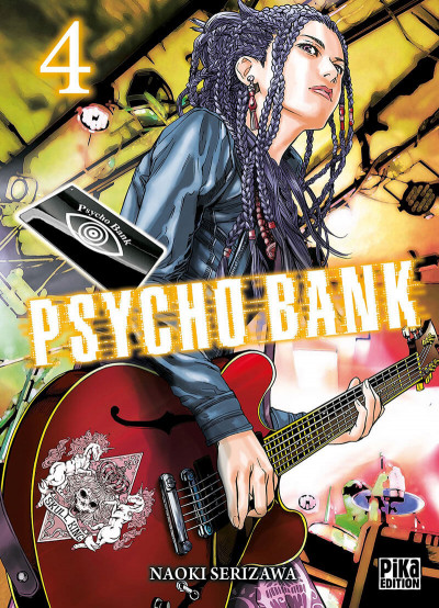 Couverture Psycho bank tome 4