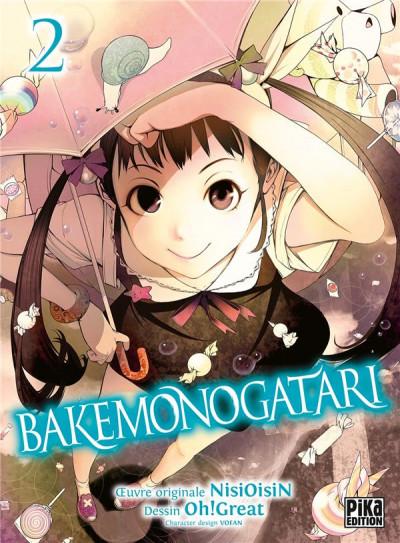 Couverture Bakemonogatari tome 2