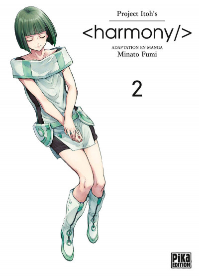 Couverture Harmony tome 2