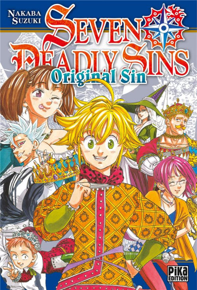 Couverture Seven deadly sins - original sin