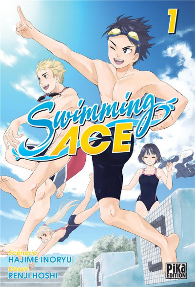 Couverture Swimming ace tome 1