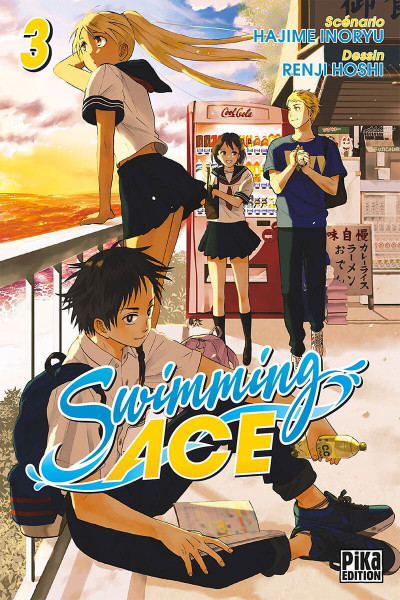 Couverture Swimming ace tome 3