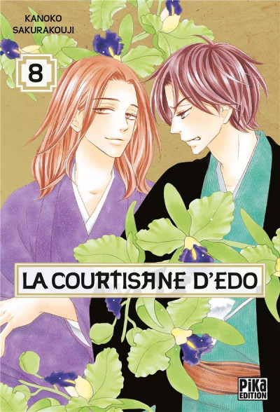 Couverture La courtisane d'Edo tome 8