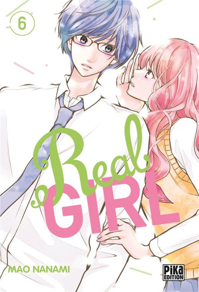 Couverture Real girl tome 6