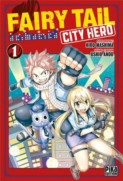 Couverture Fairy tail - city hero tome 1
