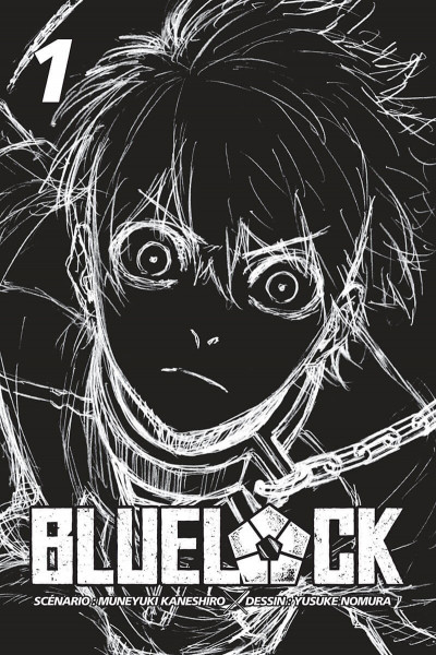Page 1 Blue lock tome 1