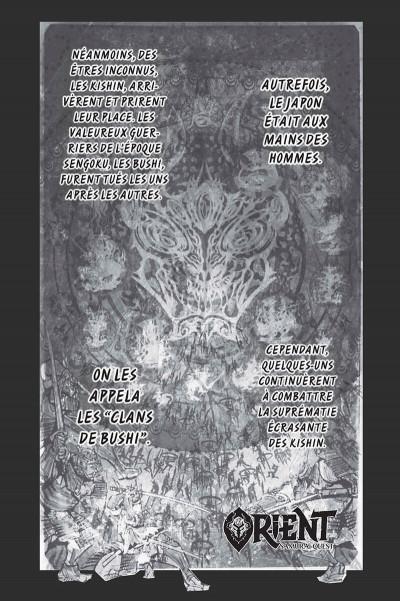 Page 2 Orient - samurai quest tome 1