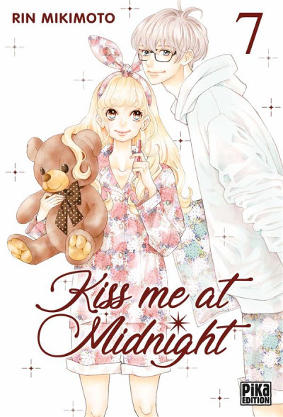 Couverture Kiss me at midnight tome 7