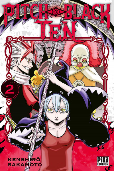 Couverture Pitch-black ten tome 2