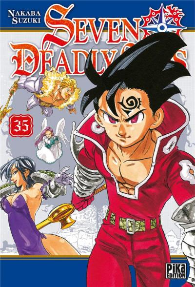 Couverture Seven deadly sins tome 35