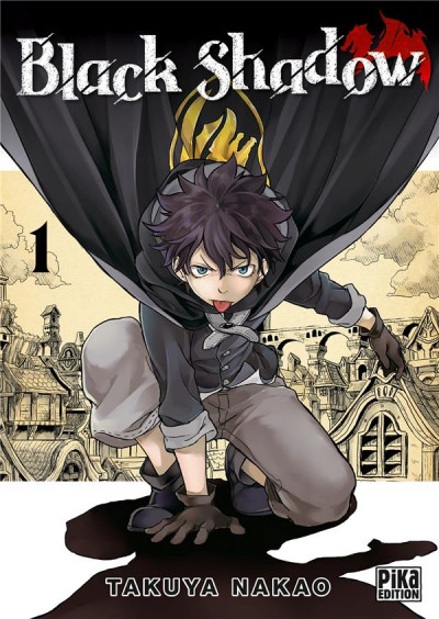 Couverture Black shadow tome 1