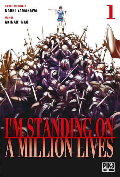 Couverture I'm standing on a million lives tome 1