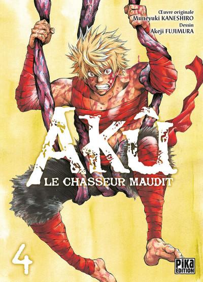 Couverture Akû, le chasseur maudit tome 4