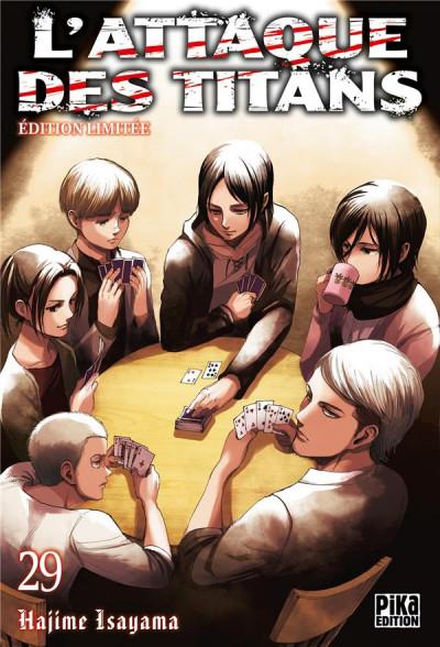 Couverture L'attaque des titans - éd. limitée tome 29
