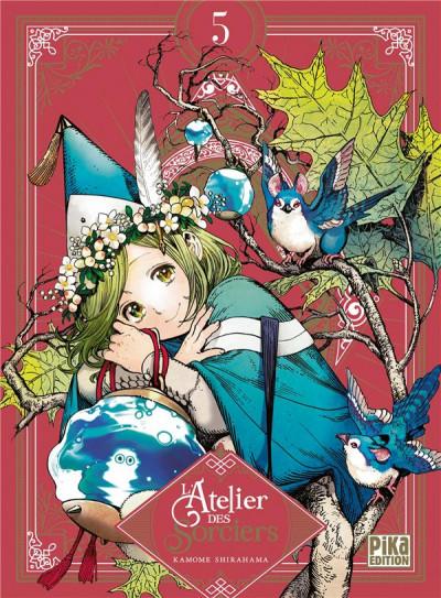 Couverture L'atelier des sorciers - édition collector tome 5