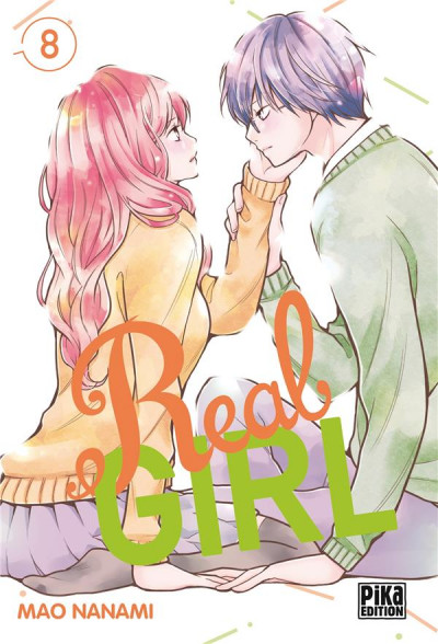 Couverture Real girl tome 8