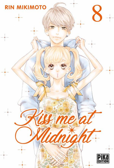 Couverture Kiss me at midnight tome 8