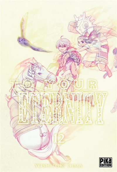 Couverture To your eternity tome 12