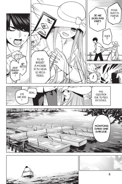 Page 8 The quintessential quintuplets tome 6