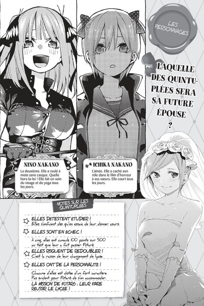 Page 2 The quintessential quintuplets tome 8