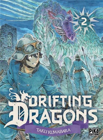 Couverture Drifting dragons tome 2