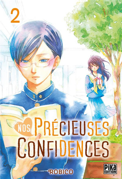 Couverture Nos précieuses confidences tome 2