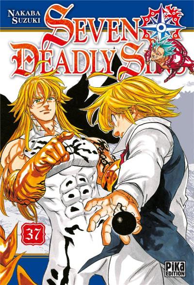 Couverture Seven deadly sins tome 37