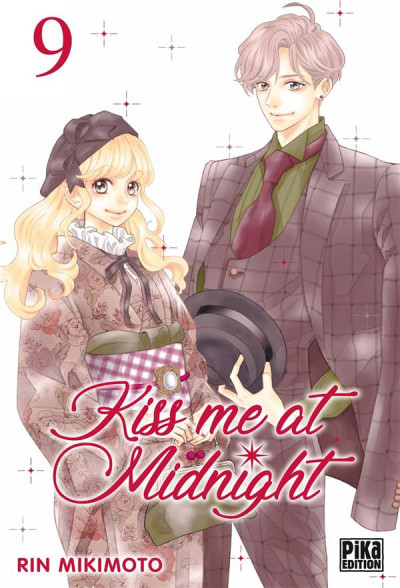Couverture Kiss me at midnight tome 9