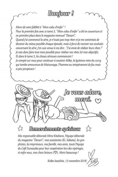 Page 6 Mon coloc' d'enfer tome 5