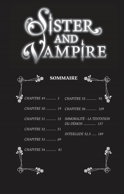 Page 2 Sister and vampire tome 7