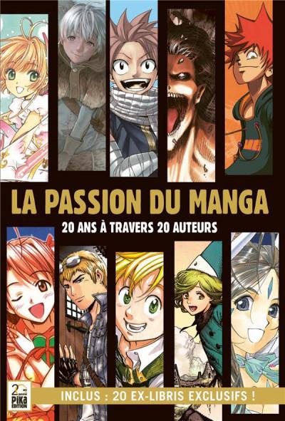 Couverture La passion du manga - 20 ans à travers 20 auteurs