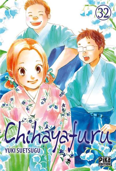Couverture Chihayafuru tome 32