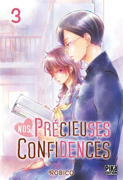 Couverture Nos précieuses confidences tome 3