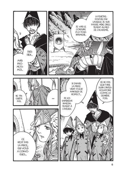 Page 6 L'atelier des sorciers tome 6