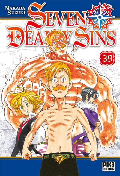 Couverture Seven deadly sins tome 39