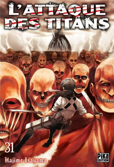 Couverture L'attaque des titans tome 31