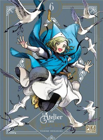 Couverture L'atelier des sorciers tome 6 (édition collector)