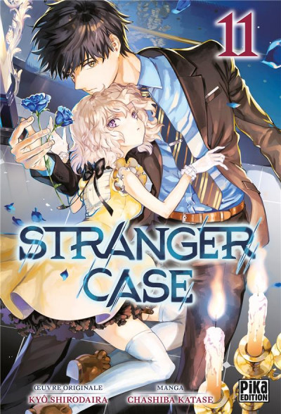 Couverture Stranger case tome 11