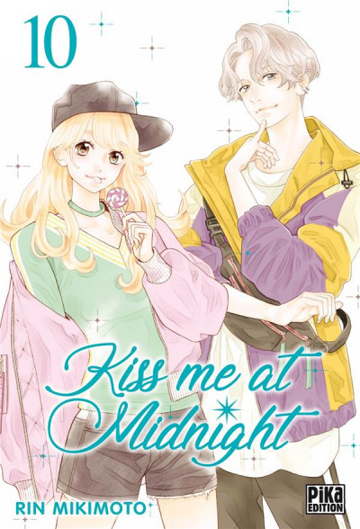 Couverture Kiss me at midnight tome 10