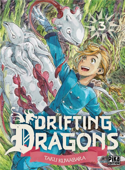 Couverture Drifting dragons tome 3