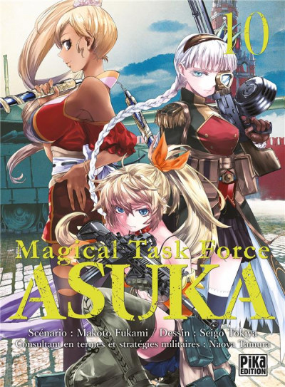 Couverture Magical task force asuka tome 10