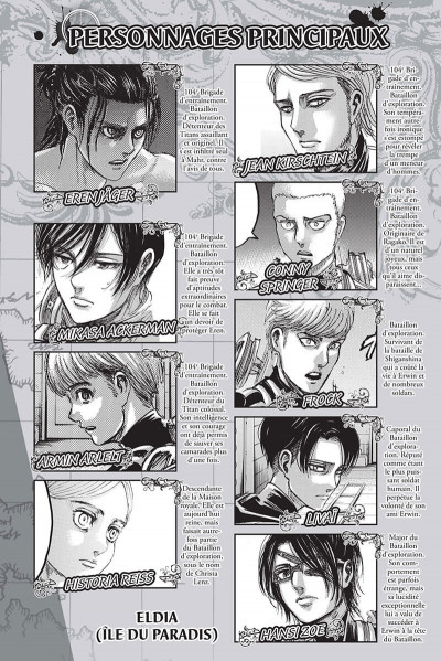 Page 3 L'attaque des titans - édition colossale tome 10