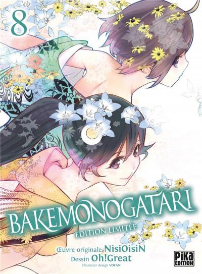 Couverture Bakemonogatari - édition collector tome 8
