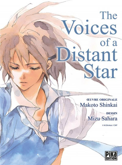Couverture The voices of a distant star