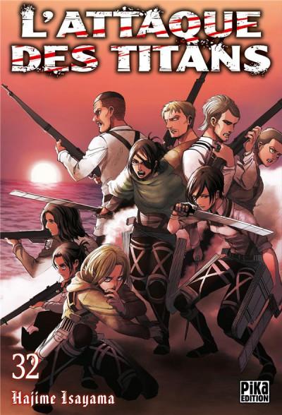 Couverture L'attaque des titans tome 32
