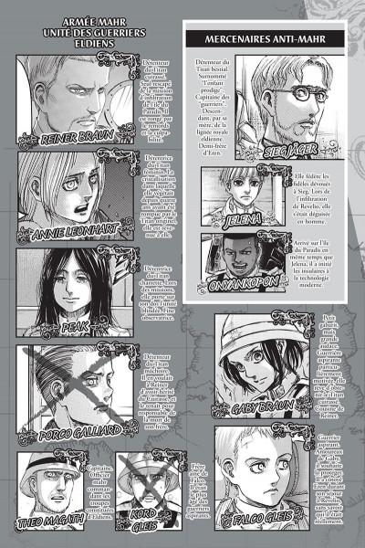 Page 3 L'attaque des titans tome 32