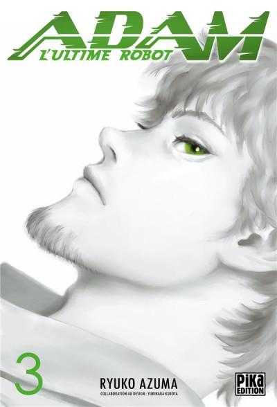 Couverture Adam - l'ultime robot tome 3