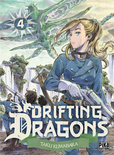 Couverture Drifting dragons tome 4