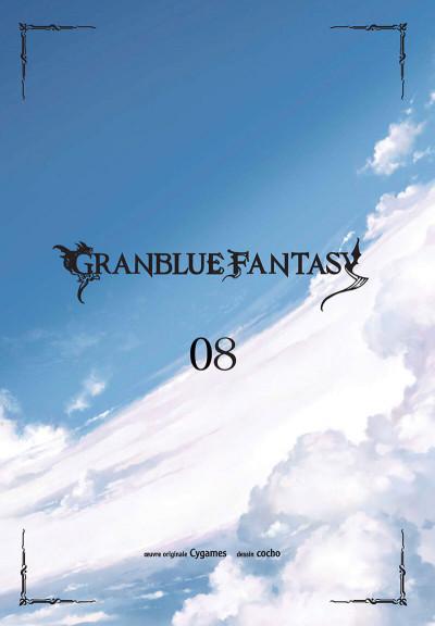 Page 1 Granblue fantasy tome 8
