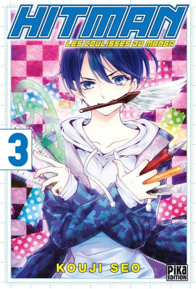 Couverture Hitman - les coulisses du manga tome 3